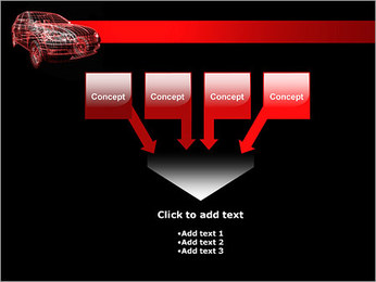 Modèle de voiture Modèles des présentations  PowerPoint - Diapositives 8