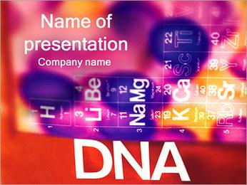 ADN tableau périodique et Modèles des présentations  PowerPoint - Diapositives 1