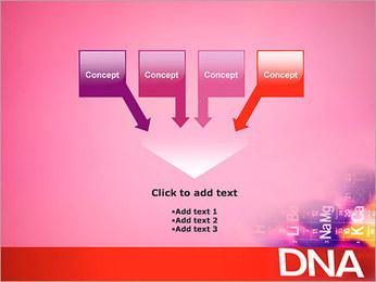 ADN tableau périodique et Modèles des présentations  PowerPoint - Diapositives 8