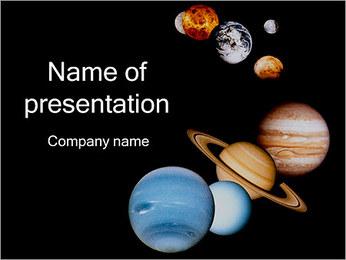 Planètes Modèles des présentations  PowerPoint