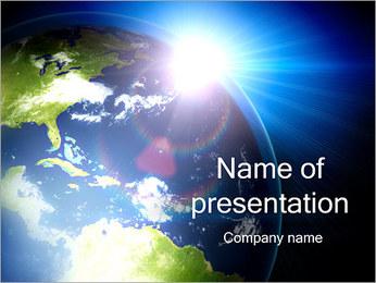 Hausse de Sun Modèles des présentations  PowerPoint