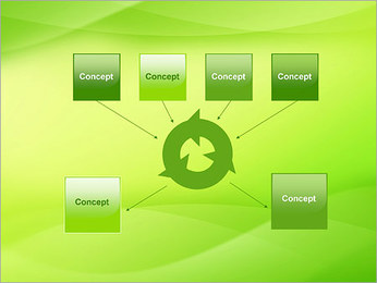 Green Wave Modèles des présentations  PowerPoint - Diapositives 10