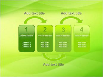 Green Wave Modèles des présentations  PowerPoint - Diapositives 11