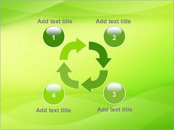 Green Wave Modèles des présentations  PowerPoint - Diapositives 14