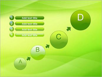 Green Wave Modèles des présentations  PowerPoint - Diapositives 15
