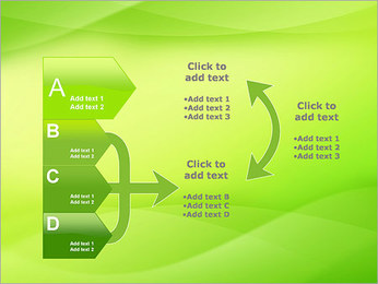 Green Wave Modèles des présentations  PowerPoint - Diapositives 16