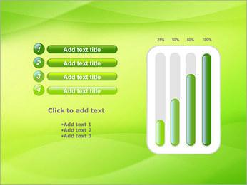 Green Wave Modèles des présentations  PowerPoint - Diapositives 18