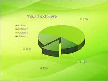 Green Wave Modèles des présentations  PowerPoint - Diapositives 19