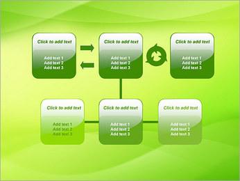 Green Wave Modèles des présentations  PowerPoint - Diapositives 23
