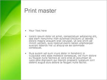 Green Wave Modèles des présentations  PowerPoint - Diapositives 24