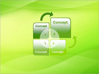 Green Wave Modèles des présentations  PowerPoint - Diapositives 5
