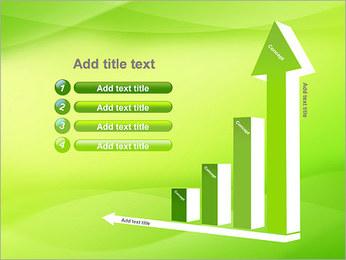 Green Wave Modèles des présentations  PowerPoint - Diapositives 6