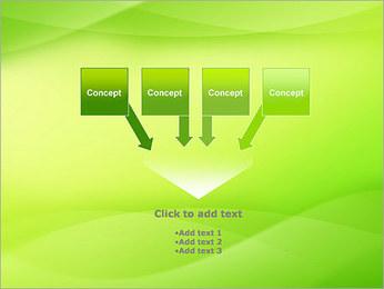 Green Wave Modèles des présentations  PowerPoint - Diapositives 8