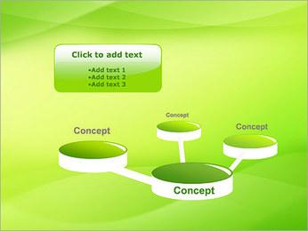 Green Wave Modèles des présentations  PowerPoint - Diapositives 9