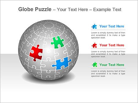 globe puzzle ppt diagrams amp chart amp design id 0000001794