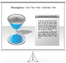 Hourglass PPT Diagrams & Chart
