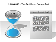 Hourglass PPT Diagrams & Charts
