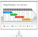 Project Timeline PPT Diagrams & Chart