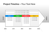 Project Timeline PPT Diagrams & Charts - Slide 10
