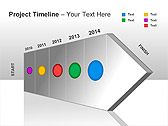 Project Timeline PPT Diagrams & Charts - Slide 12