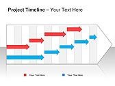 Project Timeline PPT Diagrams & Charts - Slide 2