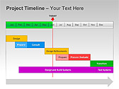 Project Timeline PPT Diagrams & Charts - Slide 8