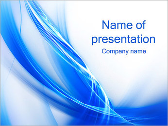 Blue PowerPoint Template