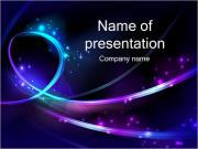 Abstract Lights PowerPoint Templates