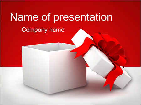 Gift powerpoint template backgrounds id 0000001812 gift powerpoint template negle Image collections