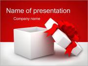 Gift Sjablonen PowerPoint presentaties