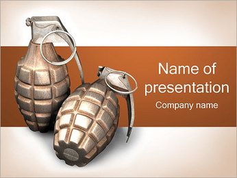 Grenade PowerPoint Template