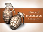 Grenade PowerPoint Templates