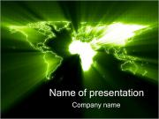 Зеленая планета Шаблоны презентаций PowerPoint