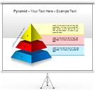 ピラミッド PowerPointのための図式