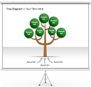 Tree Diagram Gráficos y diagramas para PowerPoint