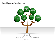 Tree Diagram PPT Diagrams & Charts