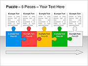 Jigsaw PPT Diagrams & Chart