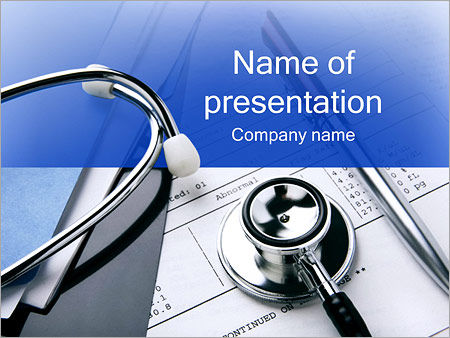 Doctor Documents PowerPoint Template