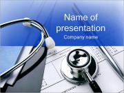 Doctor Dokument PowerPoint presentationsmallar