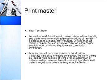 ドクタードキュメント PowerPointプレゼンテーションのテンプレート