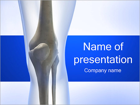 Knee powerpoint template backgrounds google slides id knee powerpoint template toneelgroepblik Image collections