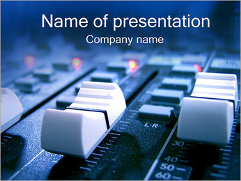 Sound Mixer PowerPoint Template