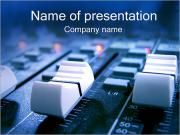 Sound Mixer PowerPoint Templates