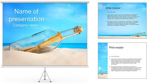 Mensaje Plantillas de Presentaciones PowerPoint