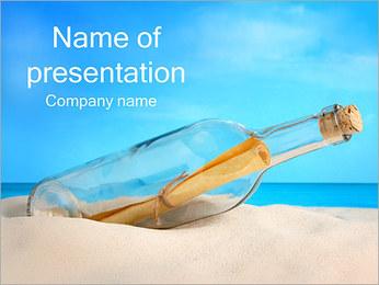 Mensaje Plantillas de Presentaciones PowerPoint - Diapositiva 1