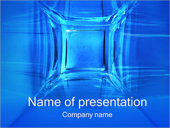 Abstract Cube PowerPoint Template
