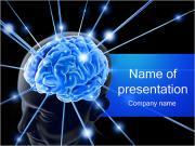 Human Brain Nerves PowerPoint Templates