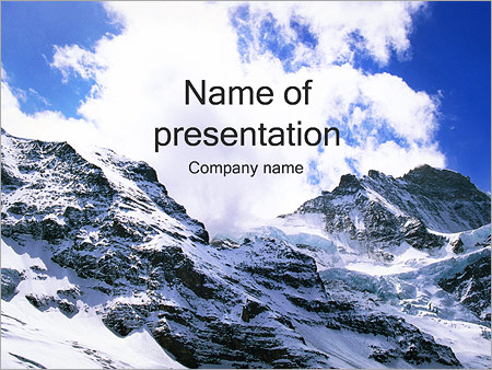 Mountains powerpoint template backgrounds id 0000001833 mountains powerpoint template toneelgroepblik Gallery