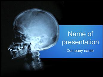 Human Skull PowerPoint Template