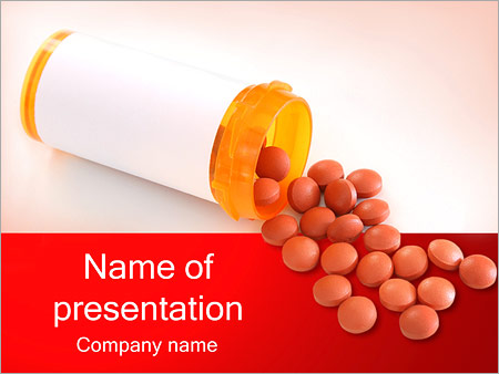 Pharmacology powerpoint templates backgrounds google slides pills and bottle powerpoint templates toneelgroepblik Choice Image